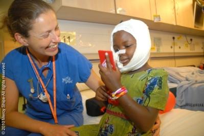 NOMA PATIENT TGD30166 AICHA(AISSA) WALDATALA from Cameroon