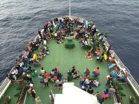 Sailing from Capetown to Benin
